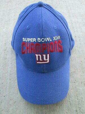 b23b6a82e00 NY New York Giants ~ OTTO Headwear ~ NFL Super Bowl XLVI Champions Cap Hat