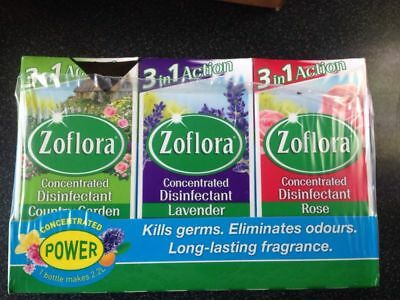 Zoflora Antibacterial-Disinfectant-Cleaner (Pick 2 of Your Favorite Fragrance)