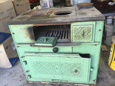 cast iron stove/oven. Gorgeous old piece.