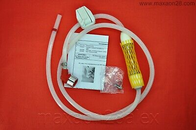 Dialysate Tube Red Silicone with Sample Valve *4008 Fresenius M391581