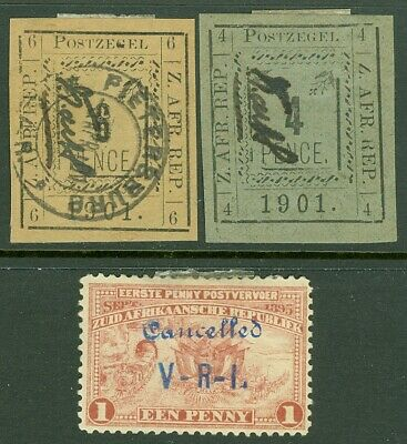 EDW1949SELL : TRANSVAAL 3 Different values.