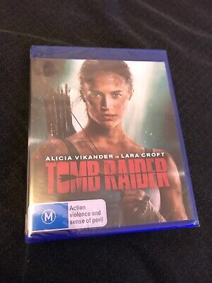 Tomb Raider (Blu-Ray, Region B, 2018) Brand New & SEALED Alicia Vikander
