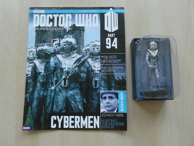 """Doctor Who - Figurine Collection - issue 94 - Cybermen """"Silver Nemesis"""""""