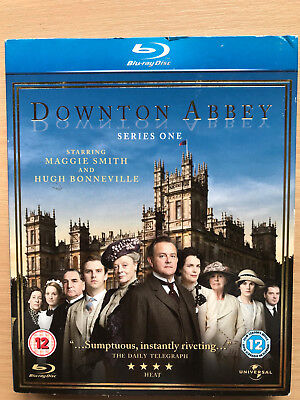 Maggie Smith Downton Abbey Temporada 1 Británico Drama Series Gb Blu-Ray con /