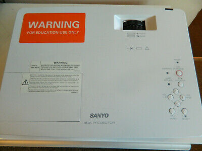 Sanyo PLC-XE34 projector