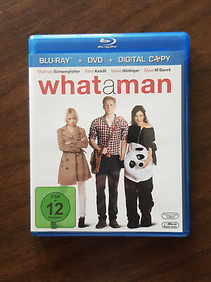 """What a man"" (DVD & Blu Ray)"