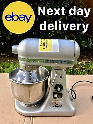 Metcalfe SM-5 Food Mixer 2017 - Capacity 5 Ltr + NEXT DAY DELIVERY