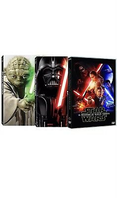 DVD STAR WARS - La Saga (7 dvd)-COFANETTO+ Star Wars Episodio 7 + Rogue One