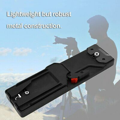 Video Camcorder Camera Tripod V-mount Quick Release Durable Plate Adapter VCT-pU