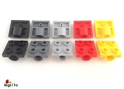 Choose 1,2,4,6,8 or 10 NEW /& GENUINE Lego Part 2444 2x2 Single Bearing Plate