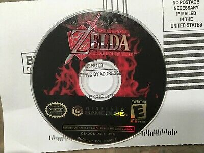 The Legend of Zelda Ocarina of Time Master's Quest Nintendo Gamecube Disc Only