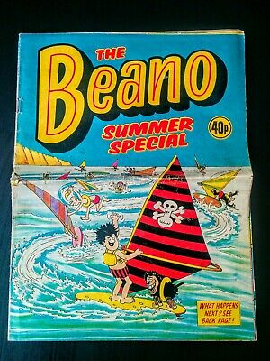 Beano UK Comic Summer Special 1983, Used, Old, Vintage (Dennis the Menace)