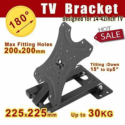 Universal TV Bracke Home Televison Wall Mount Metal Set For 14-42 Inch TV FK