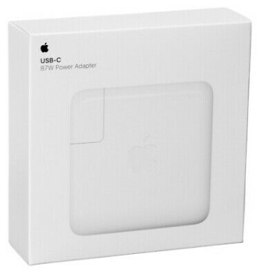 Apple Mac 87W USB-C Adaptateur Power Réf: 253479