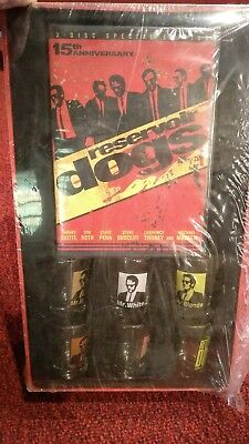 Reservoir Dogs 15th Anniversary Two-disc Special Edition 6 Shot Glass Collection
