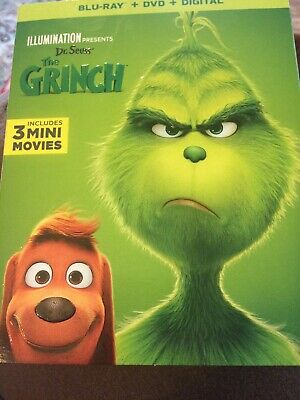 The Grinch Blu-ray And DVD