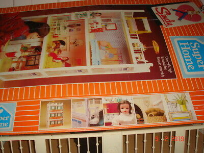 Sindy Super Home House And Box