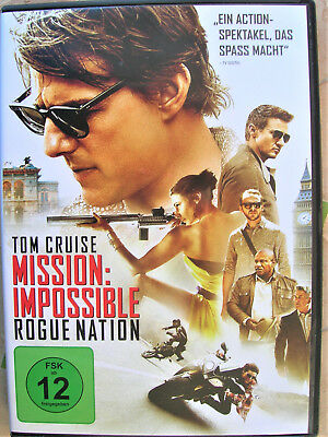 DVD Mission: Impossible - ROGUE NATION wie NEU!