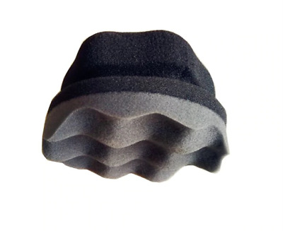Ultra Thick 3 inch Hex Grip Foam Tyre Dressing Applicator Pad High Density
