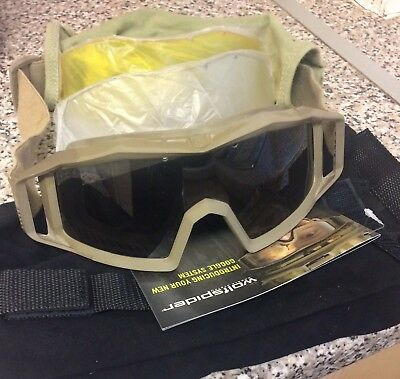 41ee7ac634c REVISION MILITARY BULLET Ant Tactical Goggle Essential - Tan Kit ...