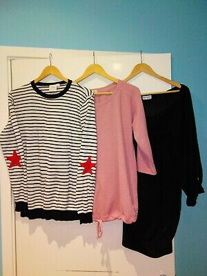 Three Maternity Jumpers Asos Next Atmosphere Size 10