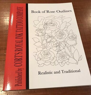 Tattoo Coloring Book Of Roses