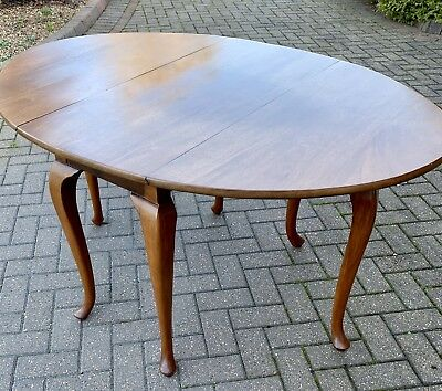 Antique Georgian Mahogany Drop-Leaf Dining Occasional Table
