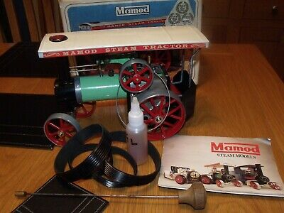 Mamod TE1a steam tractor with box
