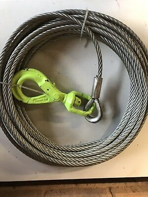 Tirfor Winch Wire Rope/Cable/Hawser with fitted Hook