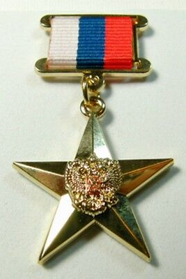 Russia HERO OF LABOUR Gold Star Medal Labor Award * Replica