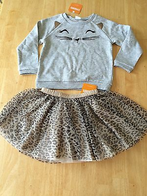7532146e46 New Gymboree Tan Leopard Print Tulle Tutu Ballet Skirt Size 4T NWT Catastic  Line Baby & Toddler Clothing