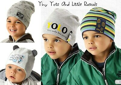 Baby Boy Infant Toddler Cotton Elastic Spring Autumn Hat Beanie newborn -4 years