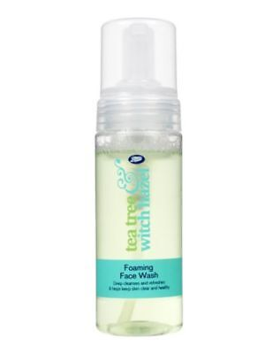 Boots Tea Tree Witch Hazel Foaming Face Wash - 50ml Travel Size