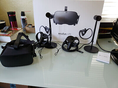 OCULUS RIFT CV1 VR, 2 Sensors and headset - NO Touch Controllers ... fc5e60034a