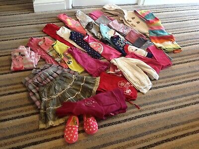 Large Bundle of Branded Girls Winter/Spring Clothing Age 3-4