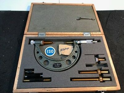 Mitutoyo  Micrometer Set  0 to 100mm