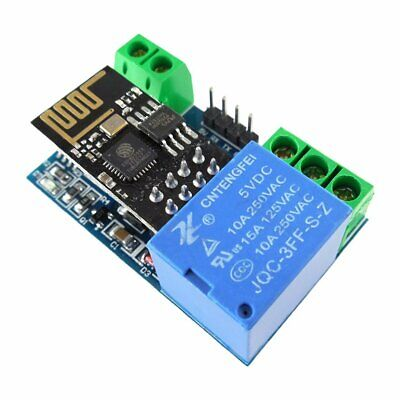 ESP8266 5V WiFi Relay Module Smart Home Phone APP Remote Control Switch F@