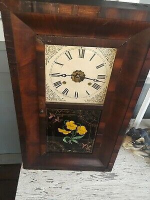 Antique OGEE clock by E.N.WELCH Look!