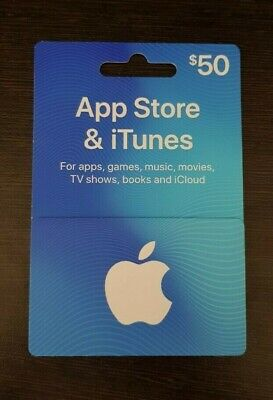 Apple $50 Australia Giftcard iTunes and App Store