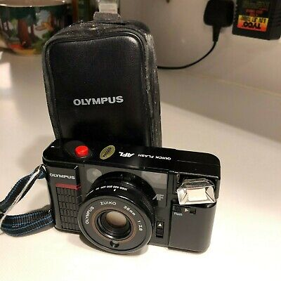 Olympus Quick Flash ALF 35mm, Never Used, with Case.