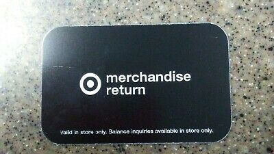 TARGET Gift Card Merchandise Credit$152.73 Free Shipping & Tracking. Save BIG!!