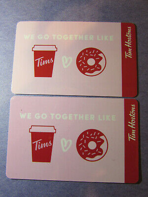 Tim Hortons Canada 2019 Valentine Gift Cards