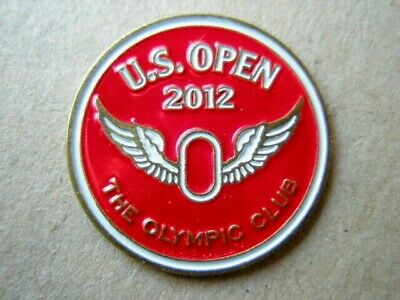 """2012 Us Open (Webb Simpson's Only Majors Title) 1"""" Coin Golf Ball Marker"""