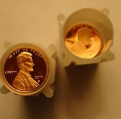 2017 S Lincoln Cent Proof Roll, with extras ( 70 coins)