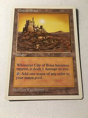 City of Brass MTG Fifth Edition 5th MAGIC THE GATHERING LP