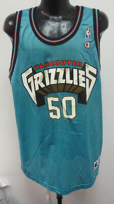Vancouver Grizzlies Bryant Reeves Champion Jersey Vintage Retro Nba  Basketball e72f882fd