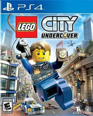 LEGO City Undercover - PlayStation 4 by WB Games New & Sealed