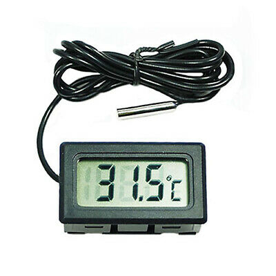 HOT Fish Aquarium Water Fridge 2m Probe LCD Mini Digital Thermometer Tester US