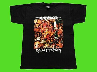 CARCASS - REEK OF PUTREFACTION T-shirt black (L) NEW heavy thrash death metal