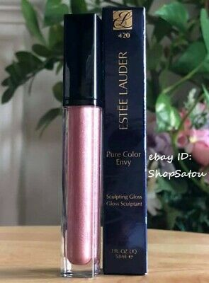 ESTEE LAUDER Pure Color Envy Sculpting Gloss #420 RECKLESS BLOOM 0.10 oz 5.8 mL